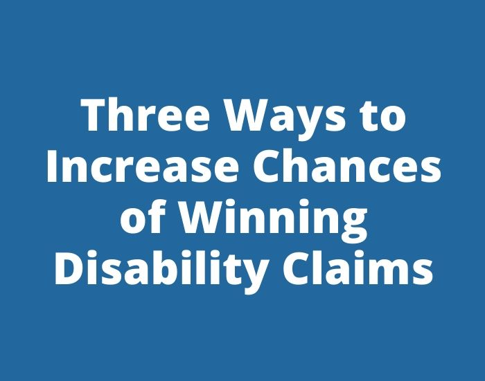 three ways to improve your claims